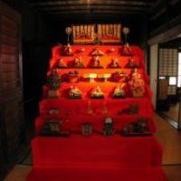 年中行事展示「ひな祭り」